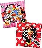 alles-meine.de GmbH 1 Stück _  Disney Minnie Mouse  - Kuschelkissen - 35 cm * 35 cm - sehr weich - groß - Microfaser - Kissen / Schmusekissen / Sitzkissen - für Mädchen - Maus ..