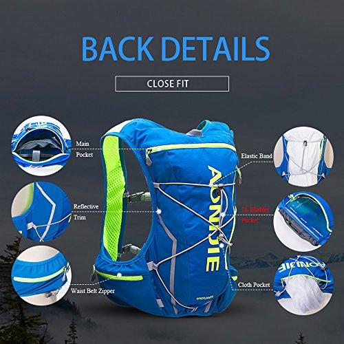 Imagen de lixada aonijie hidratación pack  con vejiga de agua 2l para correr senderismo ciclismo escalada camping alternativa