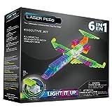Laser Pegs 6-in-1 Zippy Do Plane Construction Set