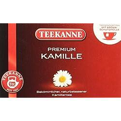 Teekanne Premium Kamille 20 Beutel, 5er Pack