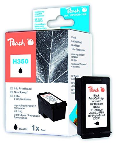 Preisvergleich Produktbild Peach Druckkopf schwarz kompatibel zu HP No. 350, HP CB335EE