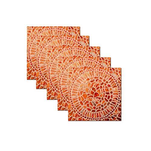 AKLIGSD Fliesenaufkleber 3D Wandtattoo Individueller Mulch Im Muslimischen Stil, 20X20Cm / 10pcs Wallpaper Dekoration Für Badezimmer Esszimmer Küche Hotel - Mulch Gold