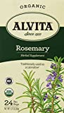 Alvita Rosemary Herbal Supplement Tea (Organic, 24 Sachets de thé)