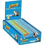 PowerBar Protein Plus Riegel mit nur 107 Kcal - Low Sugar Eiweiß, Fitness Ballaststoffen - Vanilla (30 x 35g)