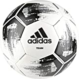 adidas Team Glider Fußball, White/Black/Silver Metallic, 3