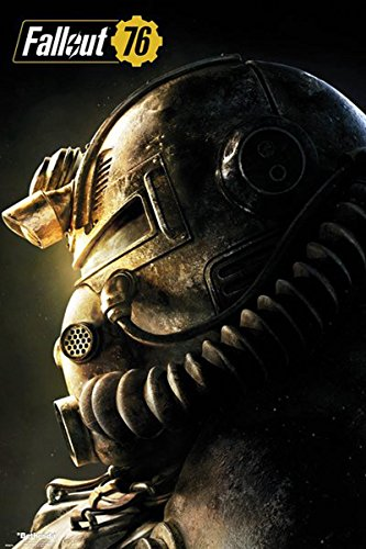 Close Up Poster Fallout 76 - T51b (61cm x 91,5cm)
