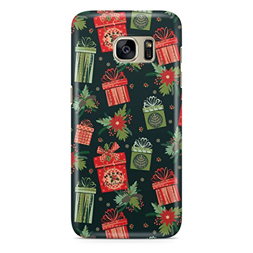 Queen Of Cases Coque pour Apple iPhone 5 C - Merry Christmas Gifts - Premium en plastique rouge