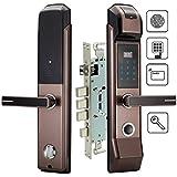 Yuke Cerradura electrónica de la Puerta de la Huella Digital de la Seguridad Cerradura sin Llave