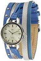 GO Girl Only-698554-Reloj Mujer-Cuarzo Analógico-Reloj Plata-Pulsera Piel Azul de Go Girl Only