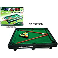BG International – Juego de billar 26 x 33 cm)