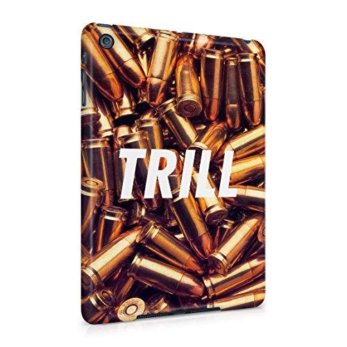Trill High Life War Fight Wartime Golden Bullets Dünne Rückschale aus Hartplastik für iPad Mini 1 Tablet Hülle Schutzhülle Slim Fit Case Cover (Case Mini Ipad Bandana)