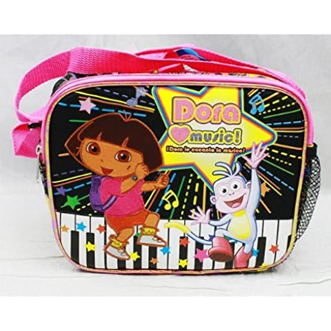 Lunch Bag - Dora the Explorer - Dora Love Music by Nickelodeon - Dora Lunch Bag