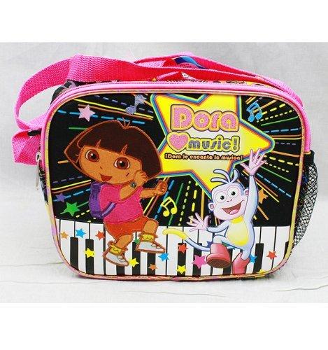 Lunch Bag-Dora The Explorer-Dora Love Music New case DE21479 - Dora Lunch Bag