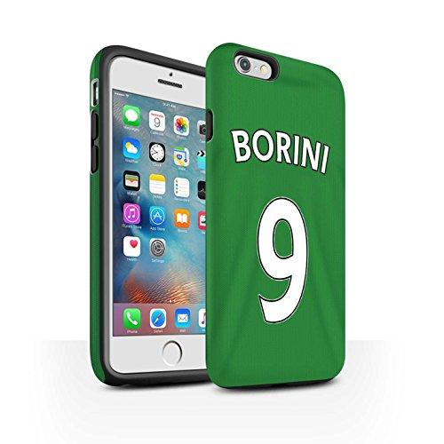 Offiziell Sunderland AFC Hülle / Matte Harten Stoßfest Case für Apple iPhone 6S+/Plus / Pack 24pcs Muster / SAFC Trikot Away 15/16 Kollektion Borini