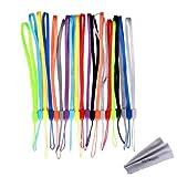 Bundle 20Stück Colorful Hand Handgelenk/Hals Lanyards/Straps/Saiten Pack für USB-Stick, Schlüssel, Schlüsselanhänger, ID Namensschild Ausweishalter, Video, Spiel