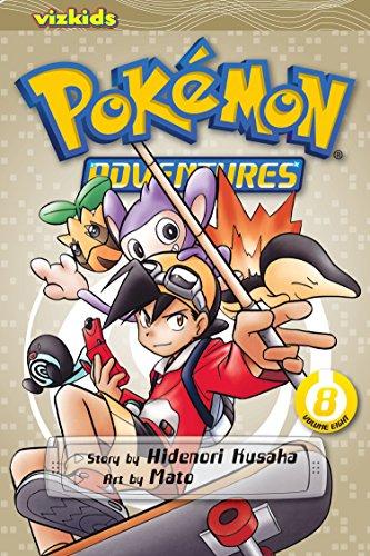 Pokemon adventures. Volume 8