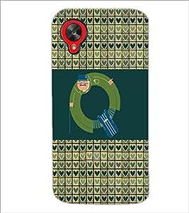 PrintDhaba GRANDbet Q D-4648 Back Case Cover for LG GOOGLE NEXUS 5 (Multi-Coloured)