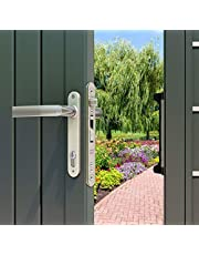 Locinox Gate Lock/Door Lock for Main Gate with 3 Keys for High Security Operated from Both Side of The Gate.