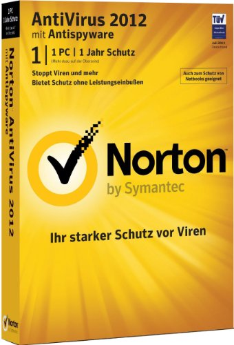 Norton AntiVirus 2012 – 1 PC