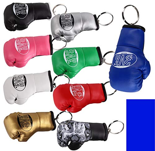 BAY® MINI Boxhandschuhe blau Schlüsselanhänger