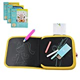 Portatile da disegno per bambini Reuseful lavabile Write and learn innovative Toy, gesso colorato Cloth Book Baby Early Learning graffiti tavolo da disegno educativo tre tipi consegna casuale