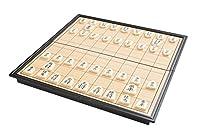 Azerus Standard Line: Shogi / Japanisches Schach Reiseset mit magnetischem Spielbrett, Spielbrett dient gleichzeitig als Reisebox und Aufbewahrungsschachtel aus Metall, Art. 3814 DE
