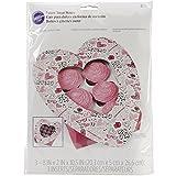 Wilton Mini-Cupcake Bakery Box 3/pkg-Spread Love bestreuen und Freundlichkeit 6Mulden, Andere, Mehrfarbig