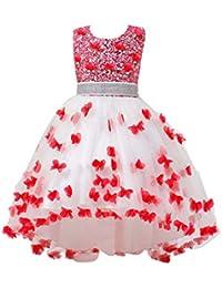 Free Fisher Mädchen Festkleider mit Schmetterling