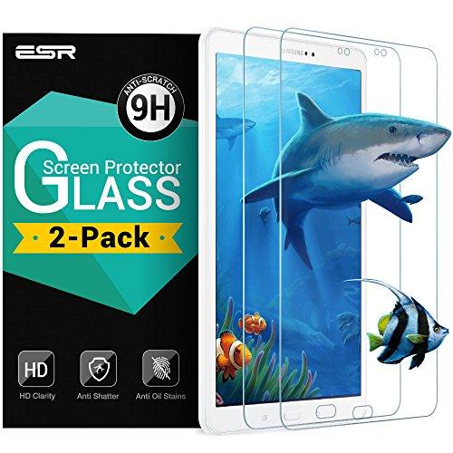 2-packs-ESR-Samsung-Galaxy-Tab-A-101-Protector-de-Pantalla-ESR-Cristal-Vidrio-Templado-Protector-de-Pantalla-Defensa-Membrana-9H-Dureza-Alta-Definicion-HD-ultra-delgado-Alta-transparente-para-Samsung-