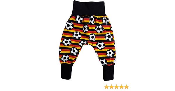 simply-sweet-baby Kurze Babyhose Pumphose Shorts Fussball Deutschlandflagge