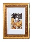 Barock Style Bilderrahmen in Gold Weiß 20x30 cm bis 70x100 cm Foto Rahmen: Farbe: Gold | Format: 50x70