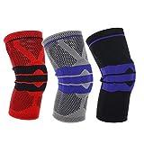 Itscominghome Knieschützer für Outdoor-Sportarten, Kniepolster, Beinschutz, schützt Gelenkschmerzen und Arthritis-Schutzausrüstung, zur Schmerzlinderung, verbesserte Durchblutung, Knie