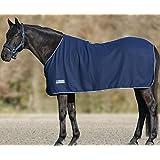 Coperta in Pile Economic Blu Scuro, Misura: 135cm | coperta per cavallo