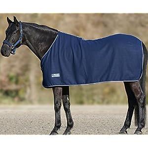 Fleecedecke Economic dunkelblau, Größe: 135 cm | Pferdedecke