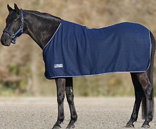 Amesbichler Fleecedecke Economic dunkelblau, Größe: 75 cm | Pferdedecke