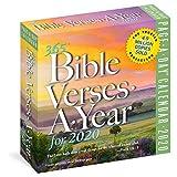 2020 365 Bible Verses-A-Year Colour Page-A-Day Calendar - Workman Calendars