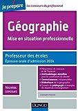 Image de Géographie, Mise en situation professionnelle - Admission 2014 : Prof