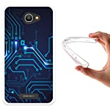 Alcatel Pop 4S Hülle, WoowCase Handyhülle Silikon für [ Alcatel Pop 4S ] Rundgang Handytasche Handy Cover Case Schutzhülle Flexible TPU - Transparent