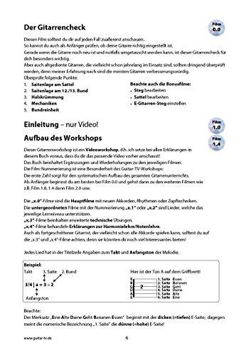 Guitar-TV: Gitarrenschule ohne Noten: Das Gitarrenbuch mit 2 DVDs – So kann jeder Gitarre lernen! - 6