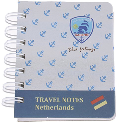 "Süßer ""BLUE FEELINGS"" Anchor ANKER Retro Vintage NOTIZBLOCK / Travel Notes Roc"