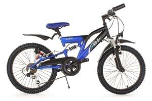 "KS Cycling KS-C Vélo VTT Enfant 20"" Noir 30 cm"