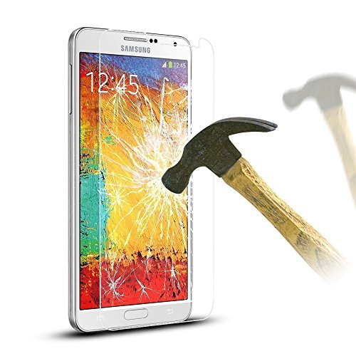 Teflon Samsung Galaxy Note 3 SM-N9000 HD+ 9H Hardness Toughened Tempered Glass Screen Protector