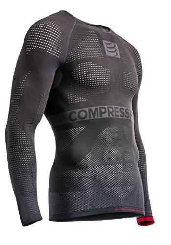 compressport-on-off-multisport-shirt-ls-maglia-compressiva-on-off-multisport-grigio-m