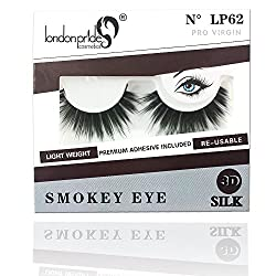 London Pride 3D SILK EYELASH LP 62