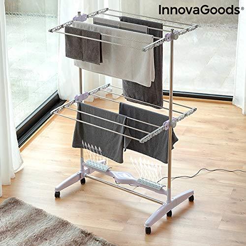 InnovaGoods | Tendedero eléctrico plegable | Flujo