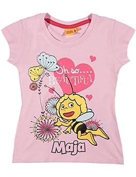 Biene Maja Mädchen T-Shirt - rosa