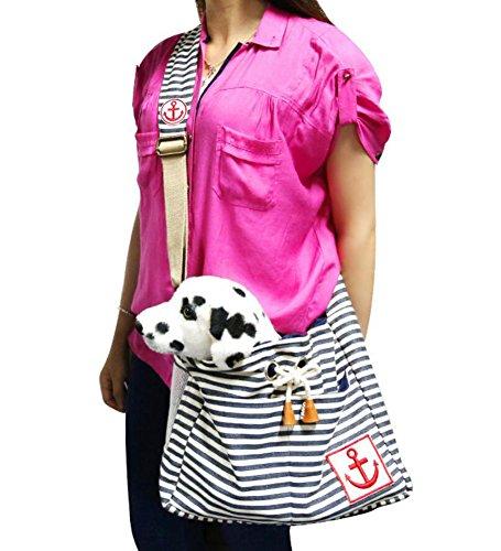Haustier Reise-Träger Rucksack Transporttasche Hundetasche Katzentasche Umhängetasche für Kleine Hunde und Katzen ()