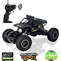 LBLA Coche teledirigido, RC Monster Truck, Radio Radio Remote / Radio Control Car, Vehículo Off Road 1:16 Recargable 2.4Ghzb High Speed Racing Rock Climber Giant 4 Wheel