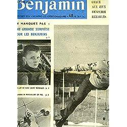 Journal Benjamin N°63 : Le billet de Marc sauve Versailles - Les avions se ravitaillent en vol - La Traversée de l'Afrique en Kayak - Le Ravitaillement en vol - Le poignard volant ...