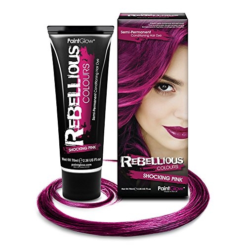 Generique - Auswaschbare Haarfarbe Tönung Pink 70 ml